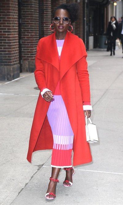 El look más llamativo de Lupita Nyong'o