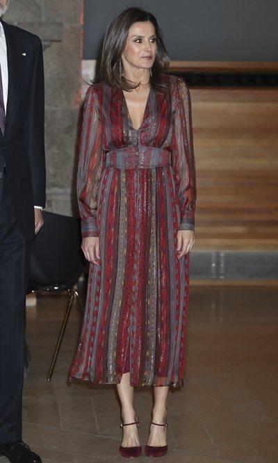 El look más hippie de la Reina Letizia