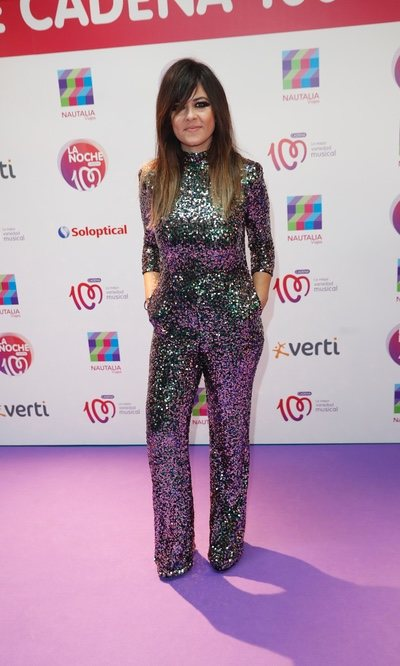El look más brillante de Vanessa Martín