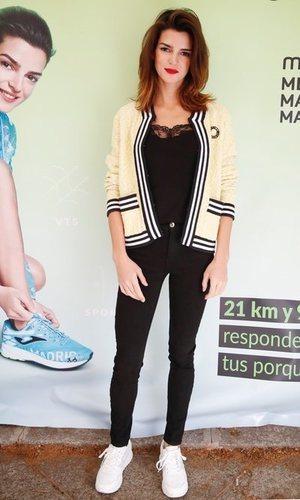 Clara Lago con un look sporty