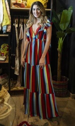 Anna Ferrer Padilla con un vestido muy veraniego