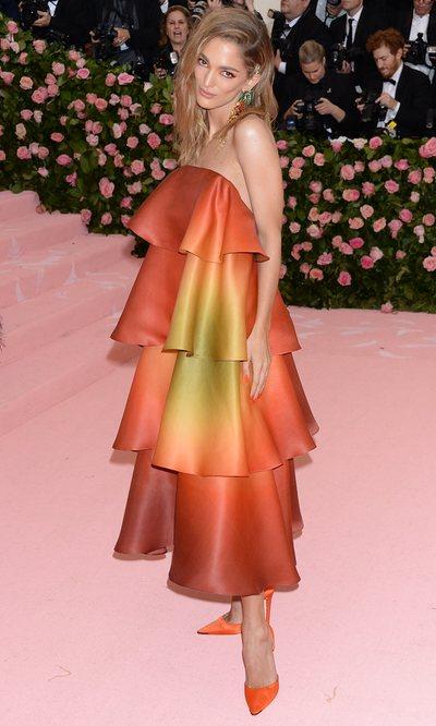 Sofía Sánchez de Betak y su vestido de low cost de Mango en la MET gala 2019