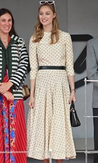 El look de invitada perfecta de Beatrice Borromeo