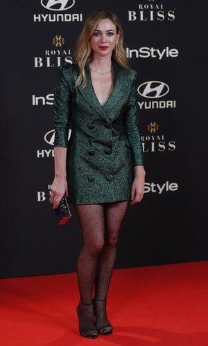 El vestido blazer continúa siendo tendencia y Marta Hazas lo sabe