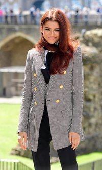 El sofisticado look de Zendaya