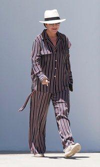 Kris Jenner al estilo pijamero
