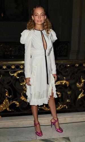Nicole Richie y el vestido tendencia de la temporada