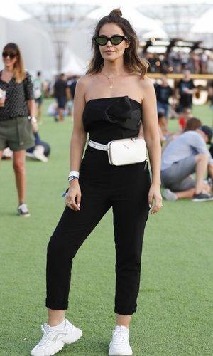 El look festivalero de Marta Torné que podría ser para una alfombra roja