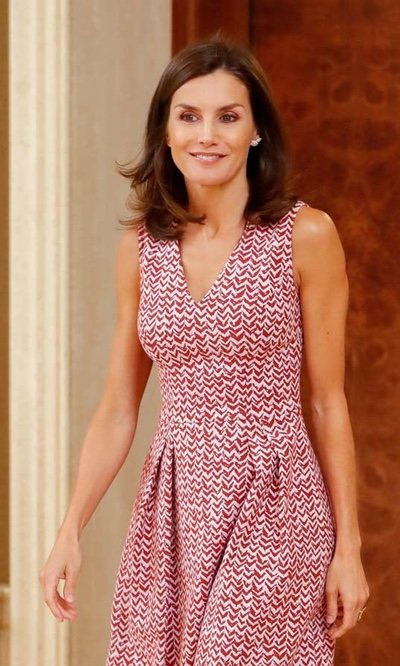 El look más veraniego de la Reina Letizia