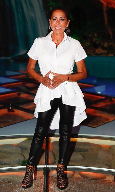 Isabel Pantoja y su look más rockero