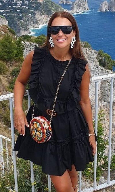El truco de Paula Echevarría para dar vida a un total black
