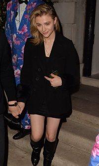 El traje de chaqueta, la apuesta de Chloë Moretz