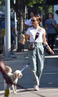 Natalie Portman tiene el bolso perfecto de Dior