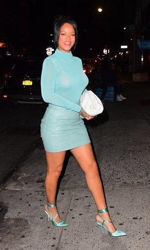 El descuido (o no) de Rihanna en su último look