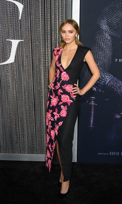 El vestido más flamenco de Lily-Rose Depp