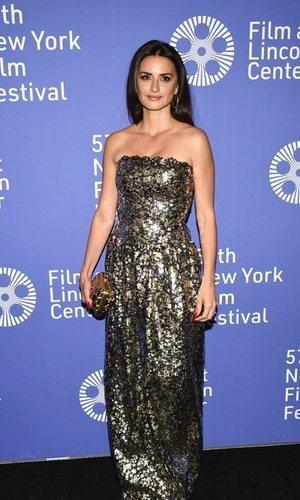 Penelope Cruz viste de Chanel en el Festival de Cine de Nueva York