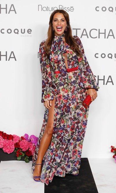 Paula Echevarría se viste de flores y levanta pasiones