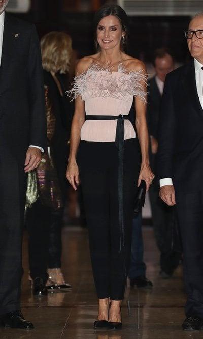 El look más arriesgado de la Reina Letizia