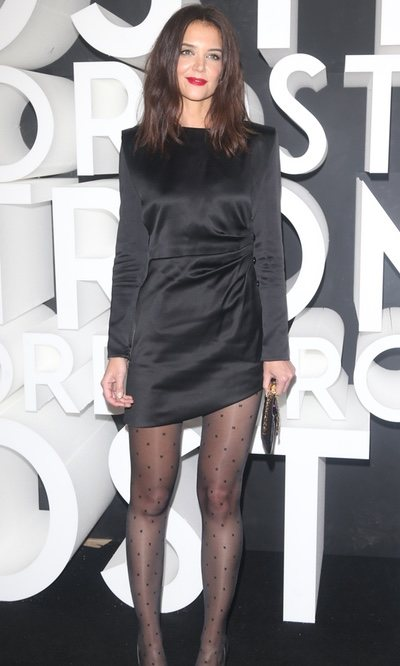 Katie Holmes se convierte en la perfecta musa de YSL