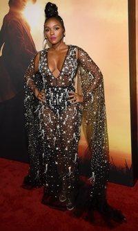 El vestido para brillar de Janelle Monae
