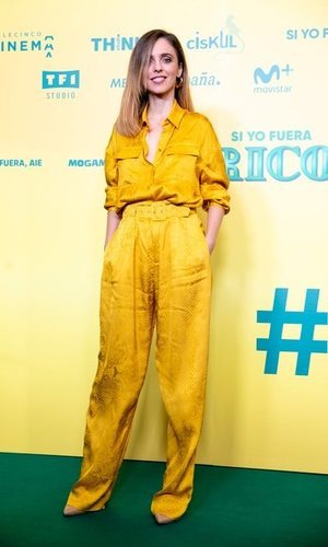 Todo al amarillo: el look más chic de Leticia Dolera