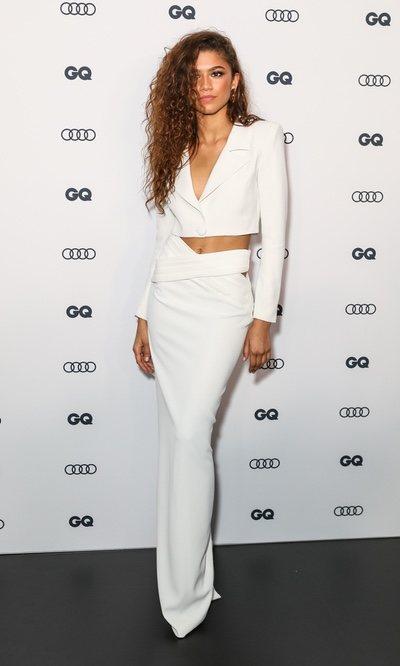 Todo al blanco: el look más sexy de Zendaya