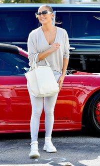 El look effortless de Jennifer Lopez