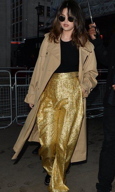 Selena Gomez brilla como nunca gracias a estos pantalones