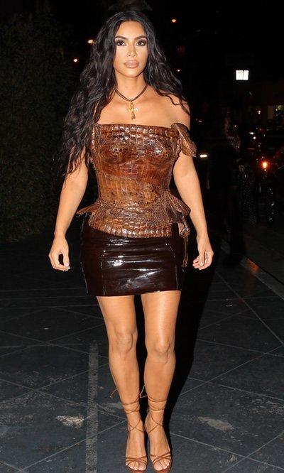 El corset vintage de 60.000 dólares de Kim Kardashian