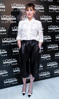 El lado más sofisticado de Marta Nieto con pantalones slouchy