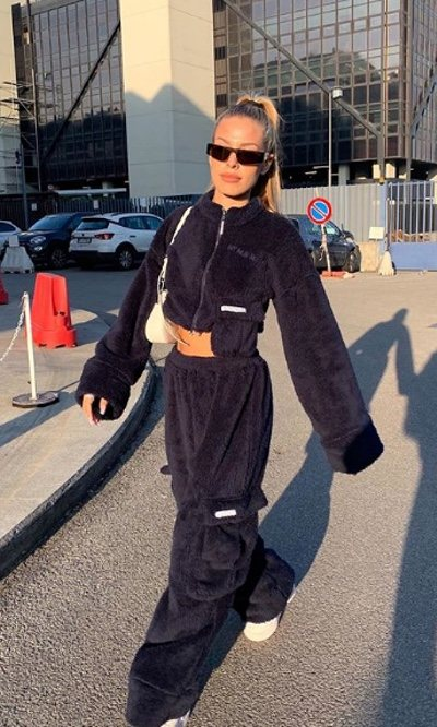 Jessica Goicoechea vuelve a sorprender con un sport look