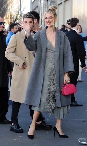 Chiara Ferragni y su total look Prada