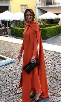 Beatriz Tajuelo apuesta por el naranja en la Pasarela Flamenca de Granada