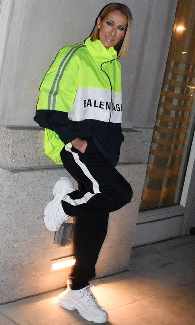Céline Dion, de nuevo intentado ser la fashion victim perfecta
