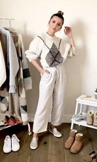 Las mil y una ideas de Alexandra Pereira para vestirse durante la cuarentena