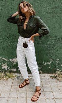 Alexandra Pereira y el look para explorar la ciudad (de nuevo)