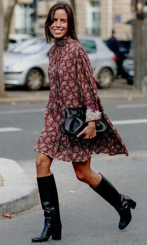 Nina Urgell demuestra que el estilo boho es también para los días fríos