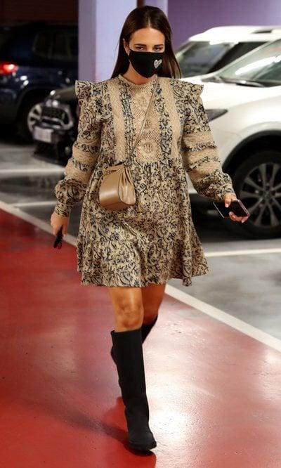 Paula Echevarría y el vestido más cómodo para cuando estás embarazada