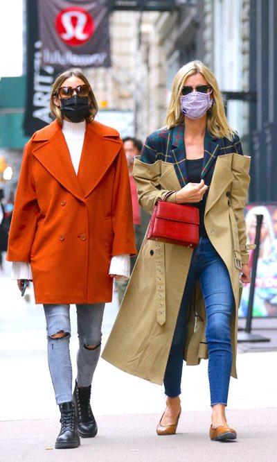 Olivia Palermo y Nicky Hilton apuestan por los looks effortless