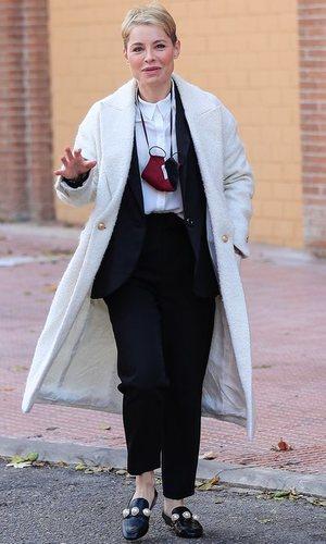 El elegante look de Soraya Arnelas para hacer la mudanza