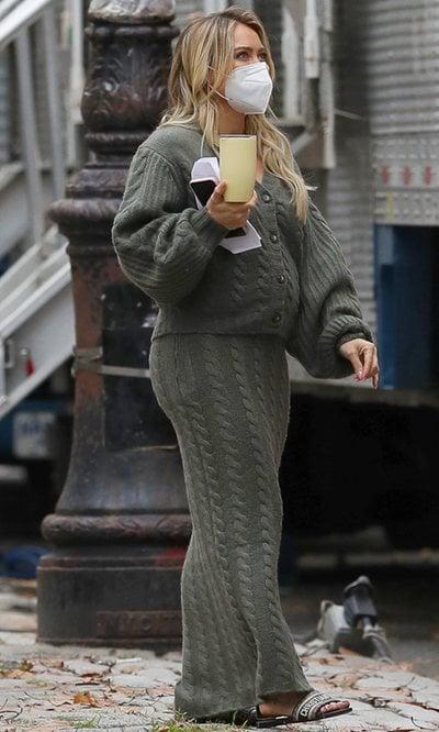 Hilary Duff tiene el look más cómodo para las embarazadas