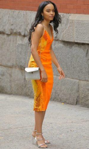 Whitney Peak, la muestra de que la nueva generación de 'Gossip Girl' viene con estilizado