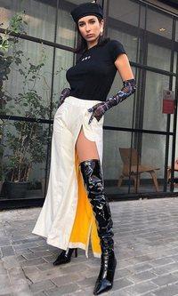 El look con el que Lola Rodríguez se ha convertido en nuestra Spice Girl favorita