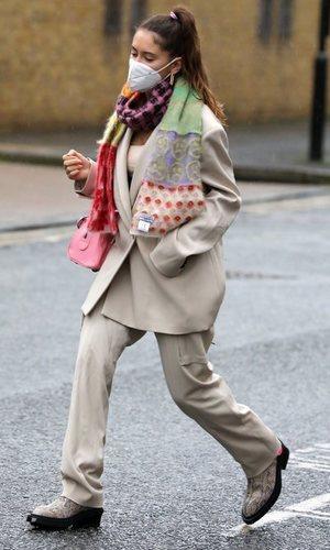 Iris Law, hija de Jude Law, tiene el traje perfecto para esta primavera