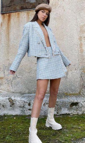 Melyssa Pinto y el look ideal inspirado en un clásico de Chanel