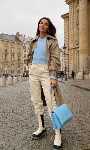 El look effortless de Alexandra Pereira que la convierte ya en una auténtica parisina