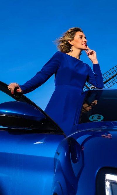 El vestido de Beatriz Tajuelo más elegante y más polivalente que hace lookazo
