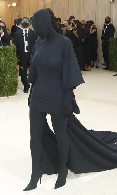 Kim Kardashian explica la idea detrás de su polémico look en la MET Gala 2021