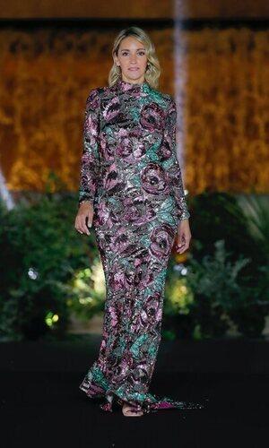 Beatriz Tajuelo desfiló con el vestido de Carla Ruiz que estamos deseando ver en la alfombra roja